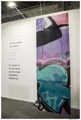 Renfe expone 'la obra más cara de ARCO' en las estaciones de varias ciudades