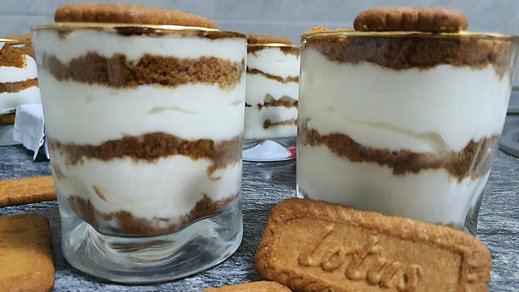 Receta: vasitos de galletas lotus