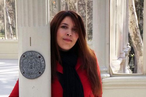 Raja Azaroual expone su última obra en la Biblioteca de Castilla-La Mancha