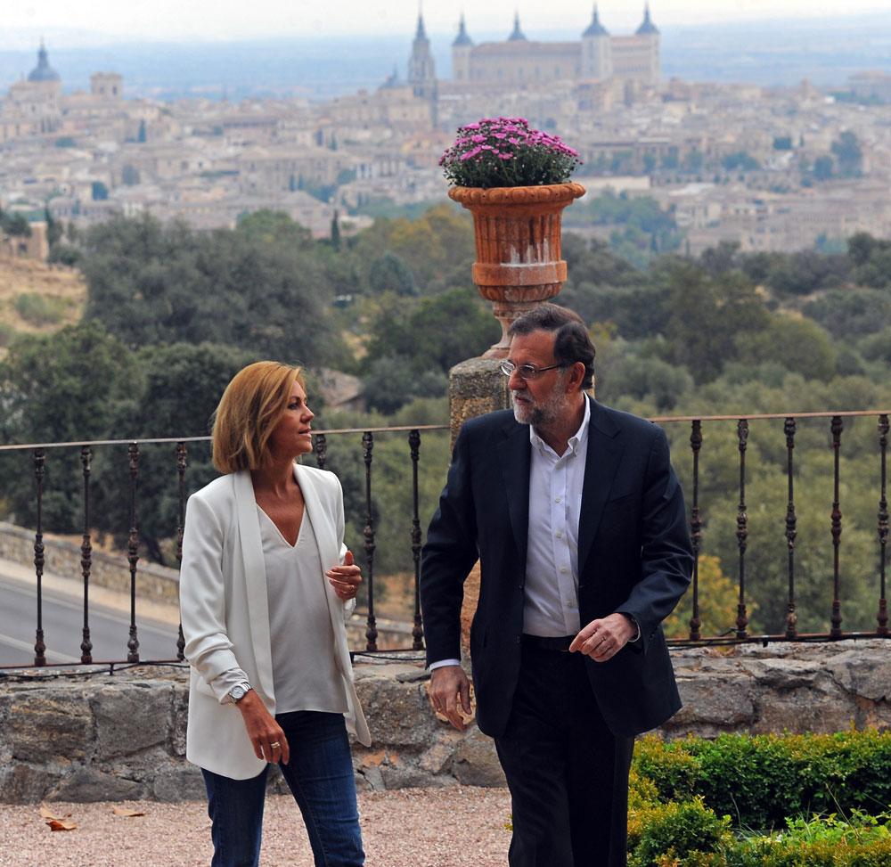 Rajoy recurre al argumento del miedo: o el PP o el