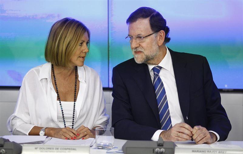 El PSOE cree que Cospedal ha recibido 'una desautorización en toda regla' de Rajoy tras los cambios en el PP
