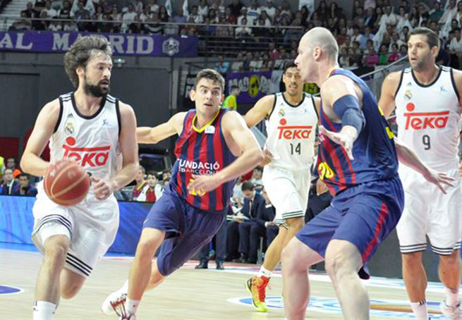 78-72 El Real Madrid abre la final venciendo con garra