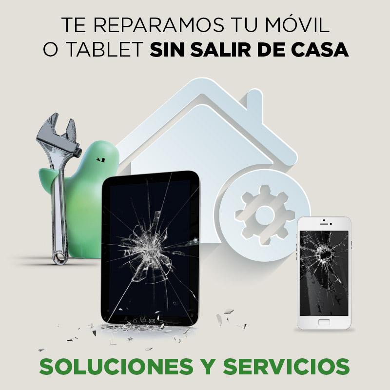 El Corte Inglés reparará smartphones y tablets a domicilio y solucionará incidencias de teletrabajo