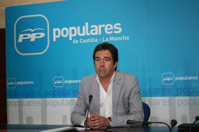El PP acusa al Gobierno regional y a Podemos de 'querer cambiar la ley para controlar la Televisión de Castilla-La Mancha'