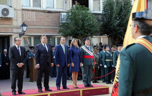 El Gobierno regional valora la contribución de la Guardia Civil a la libertad y la democracia en España
