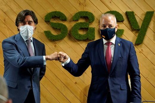 Sacyr renueva su compromiso con la Federación Española de Balonmano