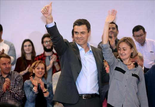 Pedro Sánchez da por hecho que si PP y C's suman mayoría absoluta