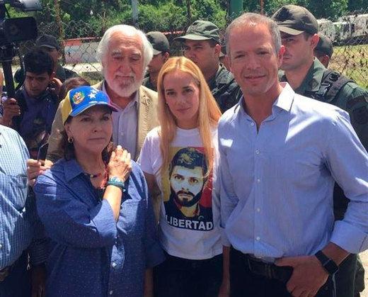 ... mientras las cárceles venezolanas siguen cerradas para los senadores: tampoco les dejan visitar a López