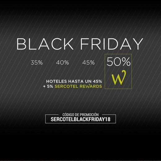 Los hoteles también se unen al Black Friday
