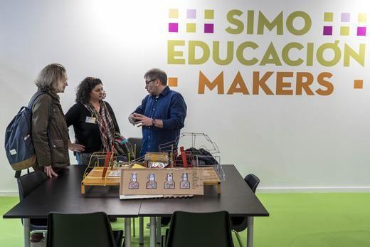 SIMO Educación: diferentes centros educativos comparten su experiencia maker en Ifema