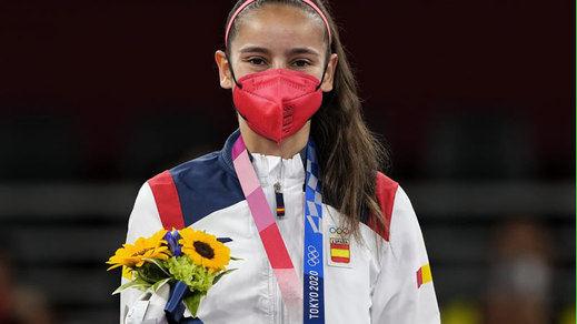 Tokio 2020: Adriana Cerezo, medalla de plata de taekwondo para España