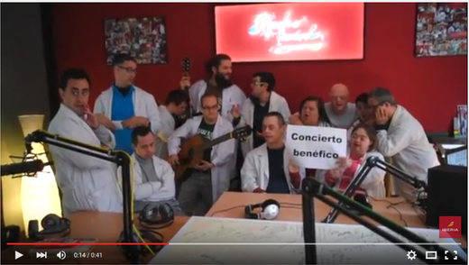 Concierto solidario a favor de Envera, la Asociación de Empleados de Iberia Padres de Personas con Discapacidad