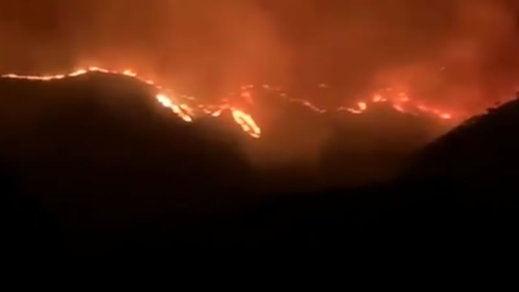 El incendio de Sierra Bermeja da una tregua y regresan a casa 1.054 personas desalojadas