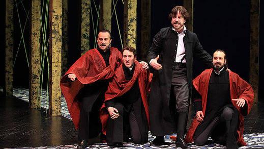 'Trabajos de amor perdidos': un delicioso e inhabitual Shakespeare