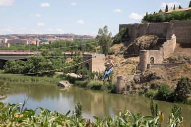 'Volar' en Toledo para vencer el cáncer