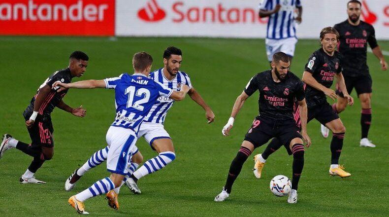 Zidane manda señales confusas en el verde debut del Madrid en San Sebastián (0-0)