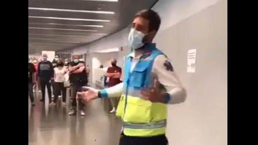 El vídeo viral del enfermero Jorge Prieto: humor e información para las vacunas