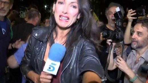 Una periodista, agredida por radicales durante la manifestación del 1-O en Barcelona