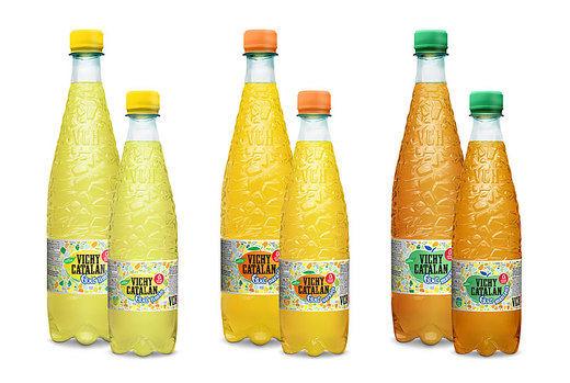 Vichy Catalán presenta en Madrid sus bebidas saludables con zumo de frutas