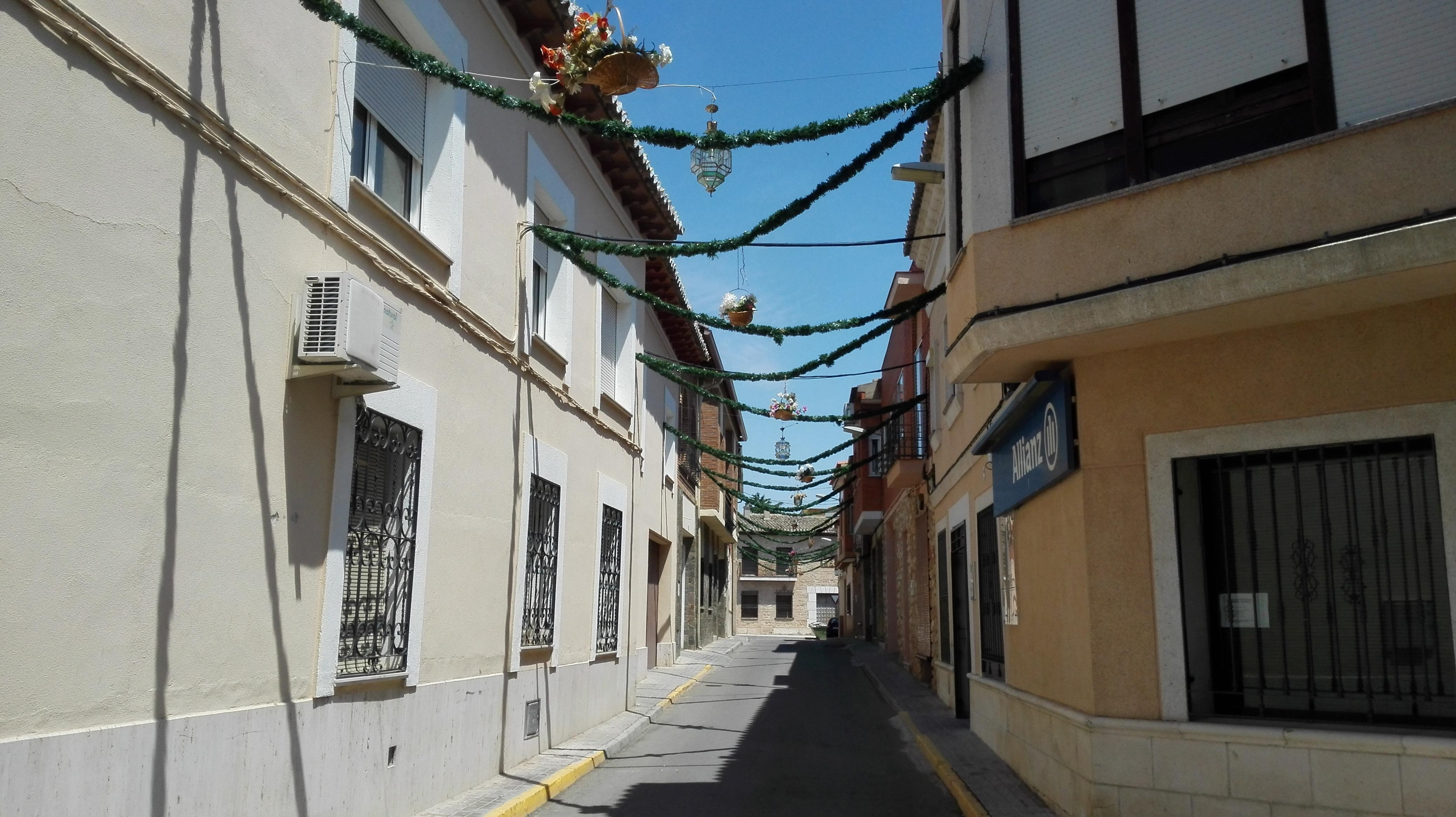 Villacañas se prepara para celebrar el Corpus este domingo