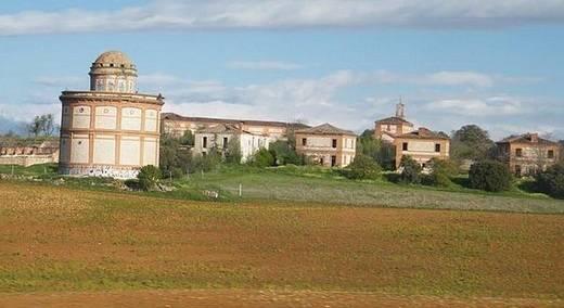 El poblado de Villaflores de Guadalajara, incluido en una 'Lista Roja' de Patrimonio por 'riesgo de derrumbe'