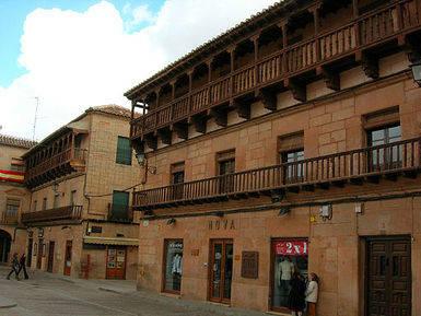 Villanueva de Los Infantes. Plaza Mayor