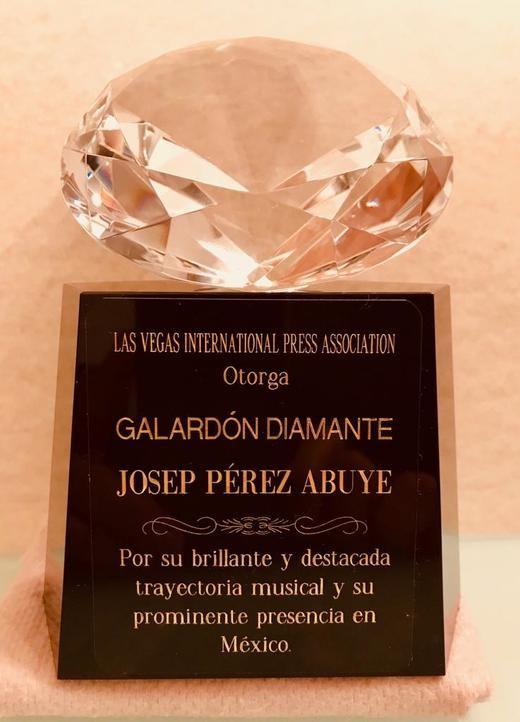 Josep Pérez Abuye, 'El Charro Catalan', obtiene el Galardon Diamante