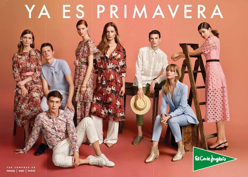 El Corte Inglés da la bienvenida a la primavera con su campaña de moda