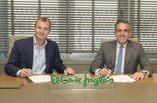 El Corte Inglés y Grupo MasMovil firman un acuerdo marco para el desarrollo de nuevas iniciativas comerciales