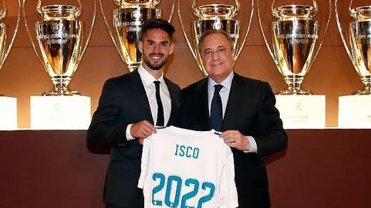 Isco, tras Marcelo, la otra estrella blanca que renueva en la nueva estrategia de Florentino Pérez