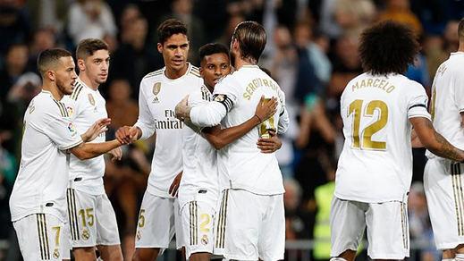 El Madrid por fin vence y convence: 5-0 al colista Leganés