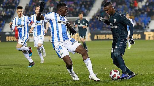 Copa del Rey: el Madrid cae en Leganés pero pasa a cuartos (1-0) mientras que el Atleti la pifia ante el Girona (3-3)