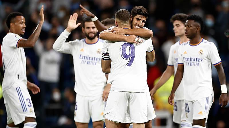 Goleada del Real Madrid al Mallorca