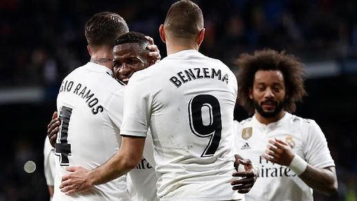 Al Madrid no se le cae la Copa y arregla con contundencia dos fallos ante el Girona (4-2)