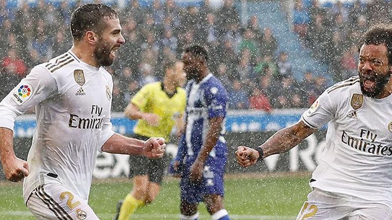 El Madrid aguanta el chaparrón y gana un partido complicado en Vitoria (1-2)