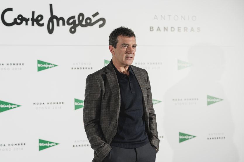 Antonio Banderas protagoniza la nueva campaña de moda masculina de El Corte Inglés