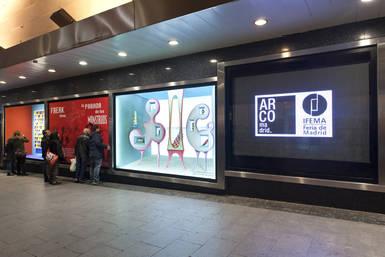 El Corte Inglés de Preciados exhibe 'Nuevas imágenes' en colaboración con Arcomadrid
