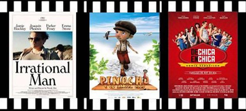 La nueva de Woody Allen, una de lesbianas y el regreso de Pinocho, entre los estrenos de la semana