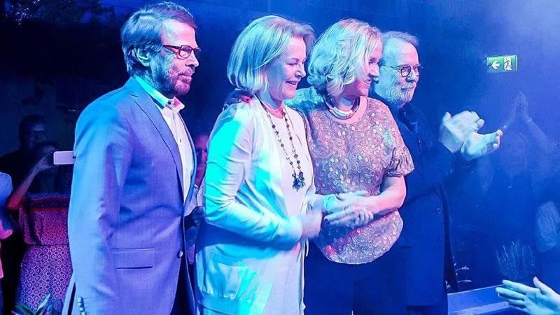 ABBA se reúnen 30 años después para una actuación en Estocolmo