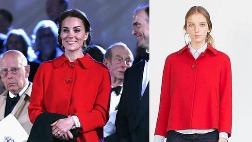 El nuevo 'hit' de Zara: tras la chaqueta amarilla, el abrigo de Kate Middleton
