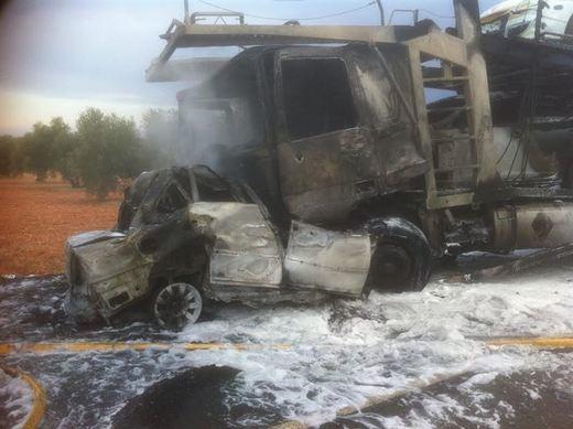 Fallecen tres personas de la misma familia en un accidente en Valdepeñas
