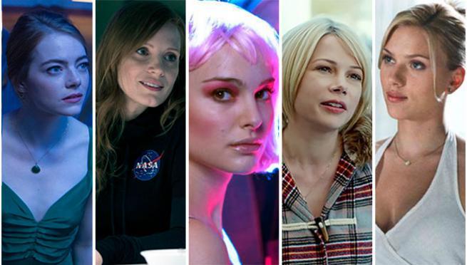 Las 5 mejores actrices del momento