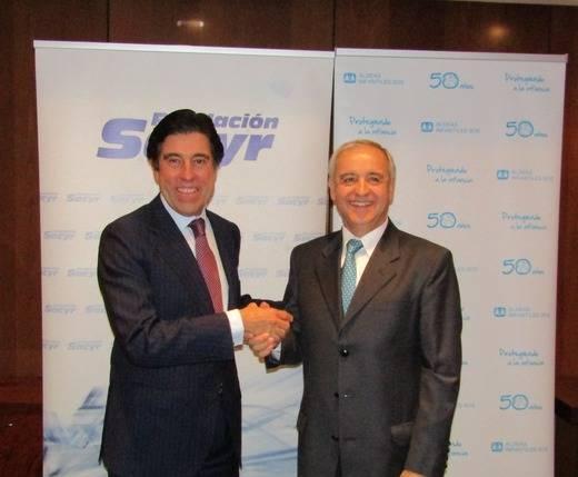La Fundación Sacyr firma un acuerdo de colaboración con Aldeas Infantiles SOS