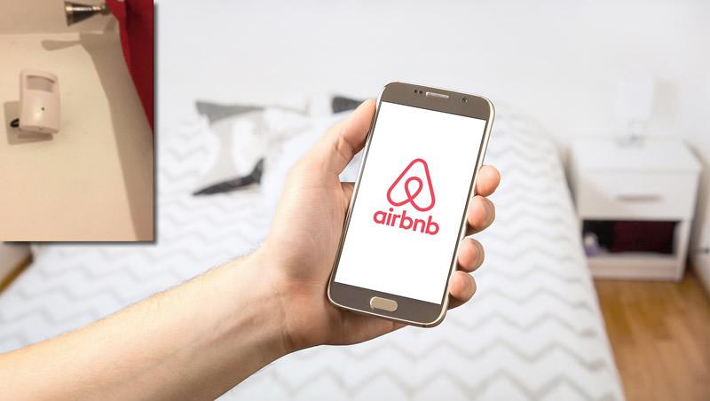 Encuentran cámaras ocultas en pisos de Airbnb para espiar a los turistas
