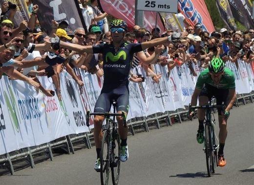 Alejandro Valverde, a tope de forma: nuevo campeón de España