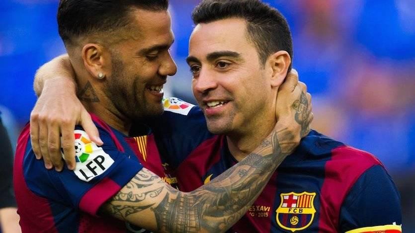 Ejemplos de generosidad en el fútbol: Xavi dona un yate para refugiados y Dani Alves dinero para tratar la hepatitis C