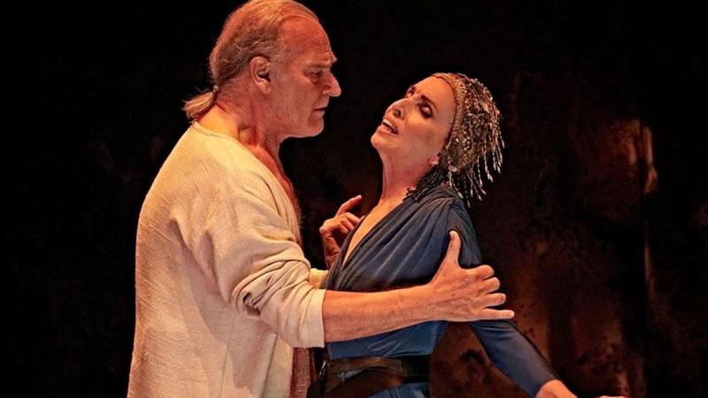 Crítica de la obra de teatro 'Antonio y Cleopatra': erotismo y poder