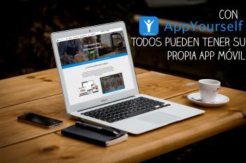 Todos pueden tener su propia App móvil con AppYourself Español