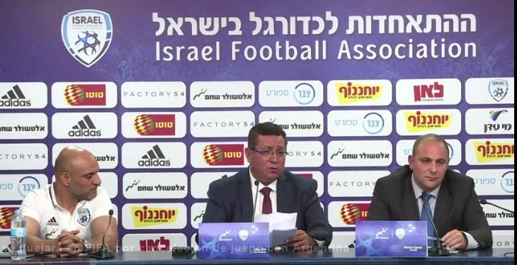 Israel se quejará ante la FIFA por la cancelación del partido por parte de Argentina