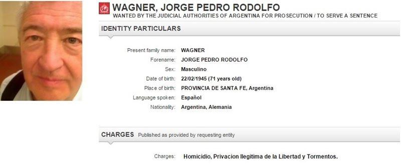 Detienen en España a un exmilitar argentino de 71 años buscado por genocidio